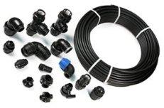 Полиэтиленовые трубы, фитинги компрессионные и электро-сварные ПЭ SDR (ПНД)